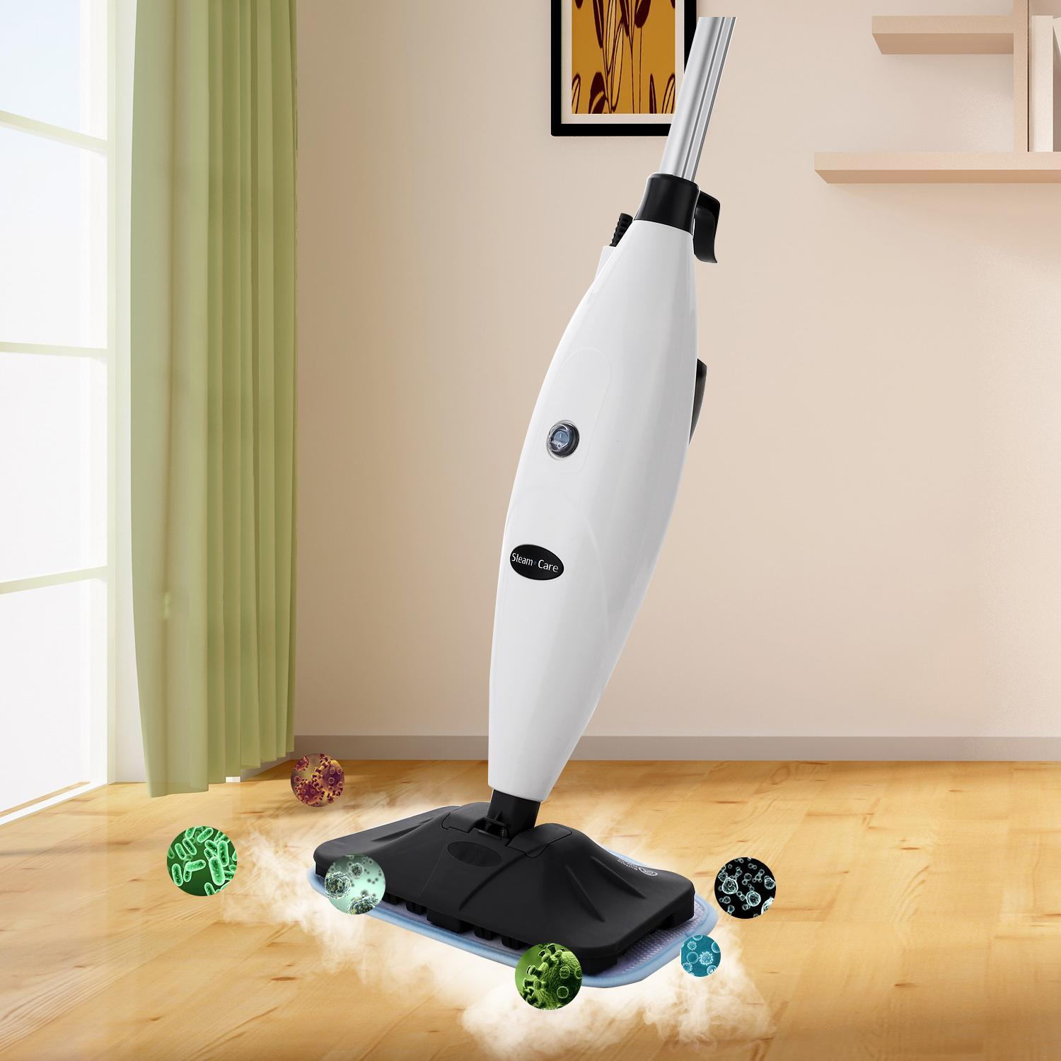 Home Smart Steam Mop Powerfresh Electric Floor Cleaner Sanitize Scrubber