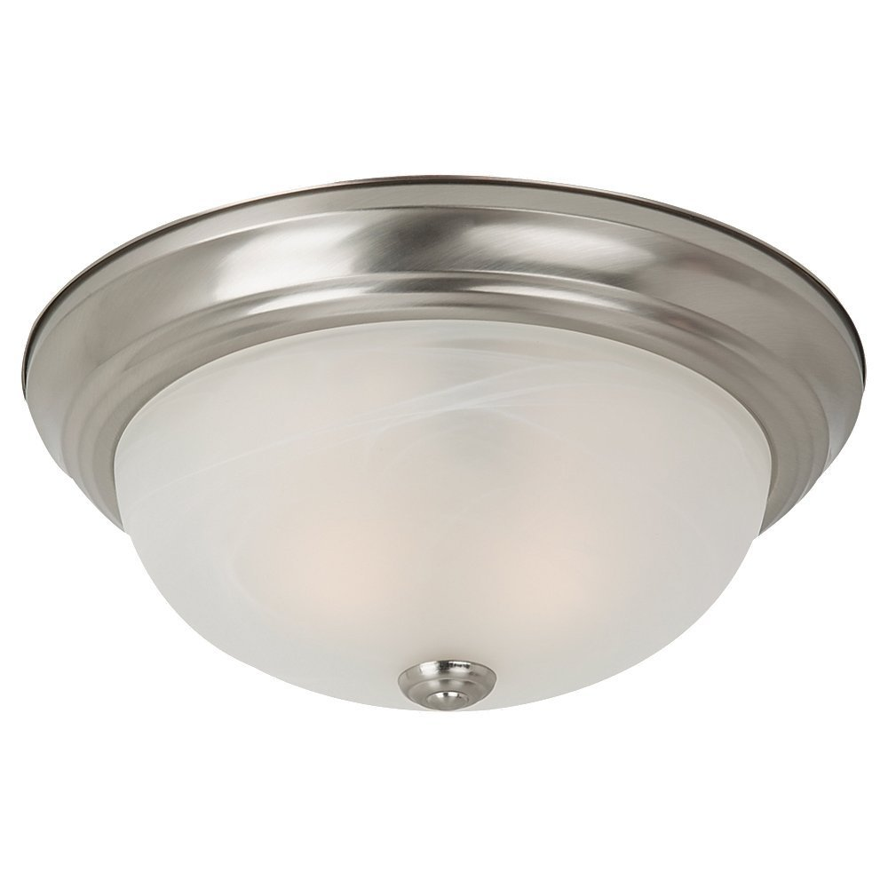 75942-962 Windgate Two-Light Flush Mount Ceiling Light with ...