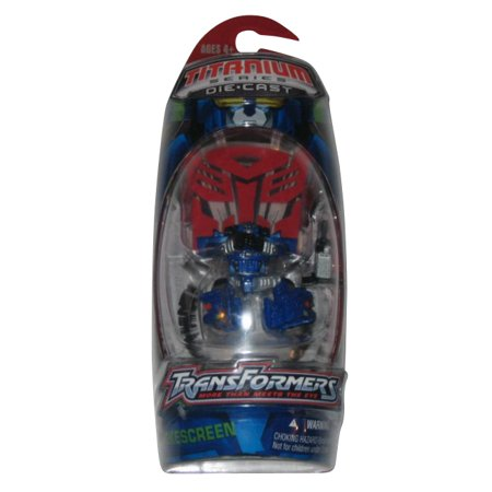Transformers Titanium Series Metal Robot Masters Alternators Smokescreen Figure