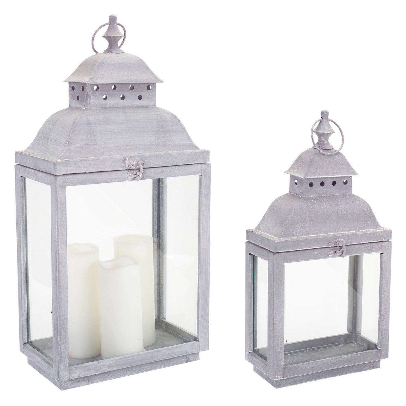 Melrose International Lantern - Set of 2