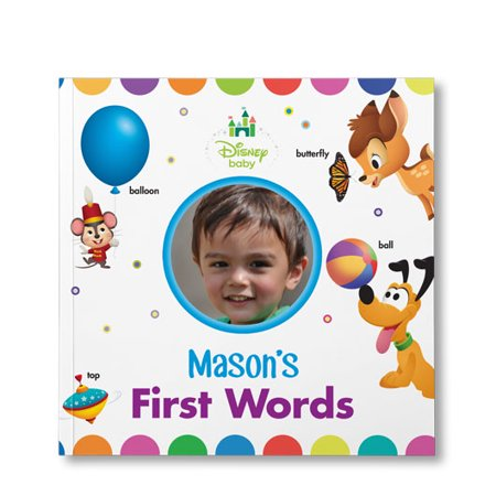 Disney Baby's Your First Words - Personalized Book](Disney Personalized Gifts)