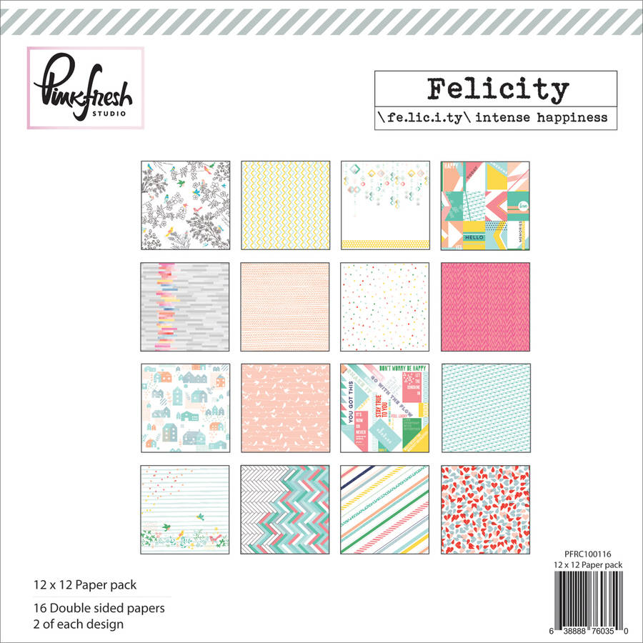"""Your Next Stamp Clear Stamps, 4"""" x 6"""", Perk Up"""