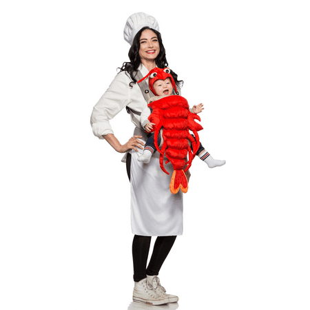 Master Chef and Maine Lobster Mommy & Me Costume - Lobster And Chef Costume