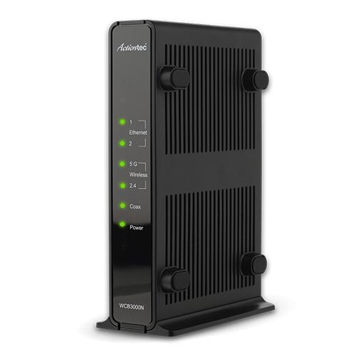 Actiontec Single Dual-Band Wireless Network Extender and Ethernet Over Coax Adapter (WCB3000N01)