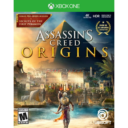 Assassin's Creed: Origins Day 1 Edition, Ubisoft, Xbox One, 887256028497](Assassin Creed Cloak)