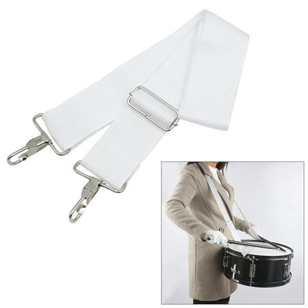 Adjustable Nylon Parade Marching Snare Drum Sling Strap Belt Musical Instrument Accessory ()