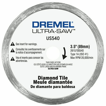 Dremel US540-01 Diamond Tile Cutting Wheel for Tile and Masonry Materials