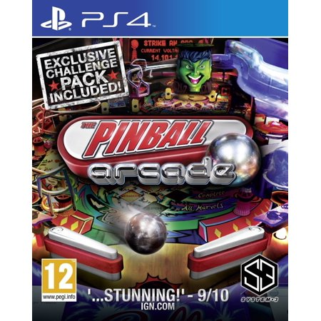 The Pinball Arcade (PS4 Sony PlayStation 4) 22 Classic Pinball (Best Arcade Games On Ps4)