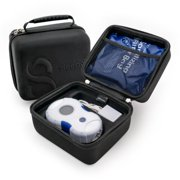 Deluxe Travel Case for Sleep8 CPAP Sanitizers + Mask M8tes, The Individually Sealed CPAP Wipes for Ozone Cleaning by Sleep8. Oil Free, Alcohol Free, & Travel Friendly.