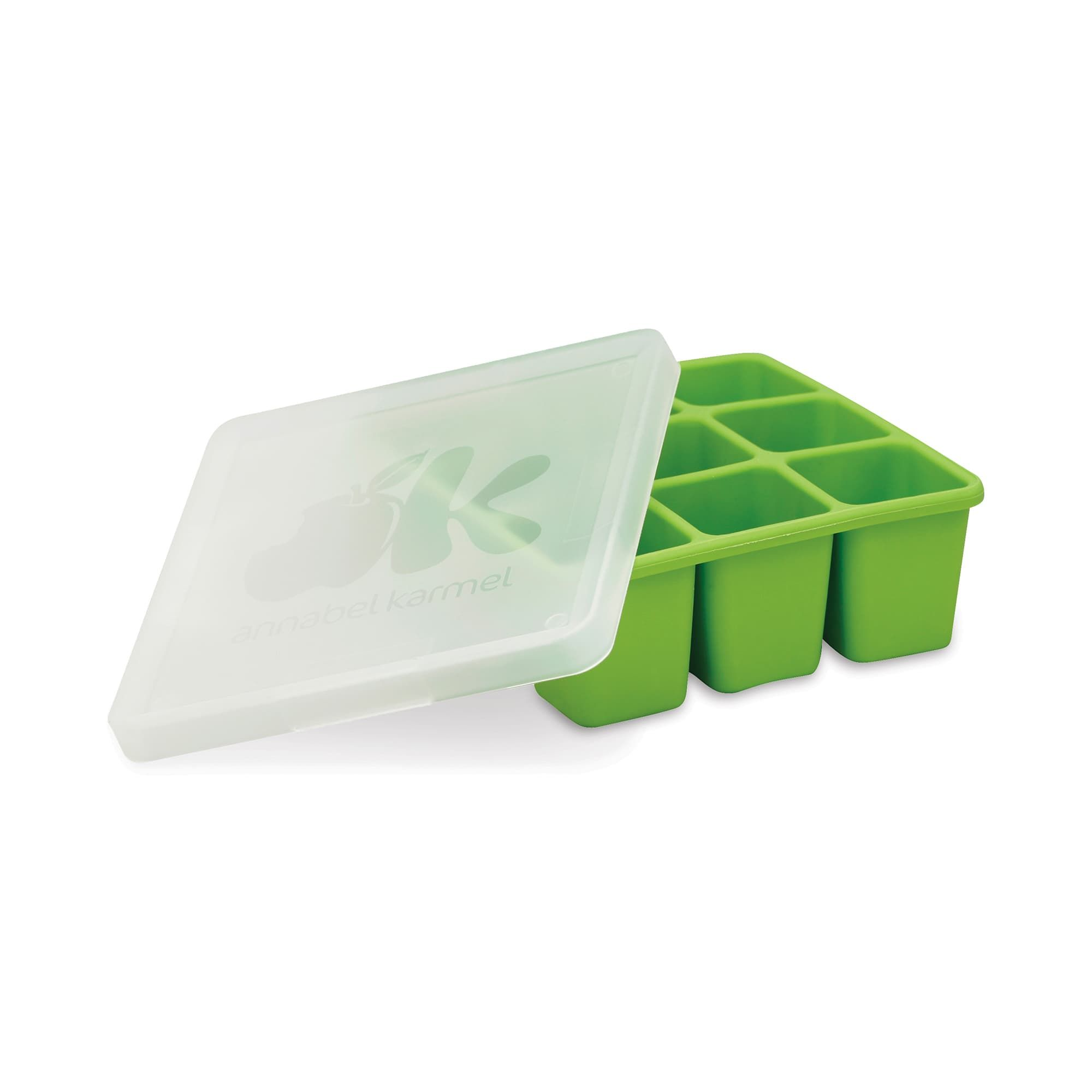 NUK Silicone Baby Food Freezer Tray, Green