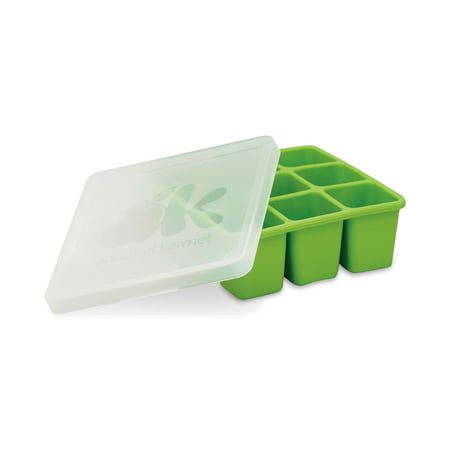 NUK Silicone Baby Food Freezer Tray, Green (Best Baby Food Maker 2019)