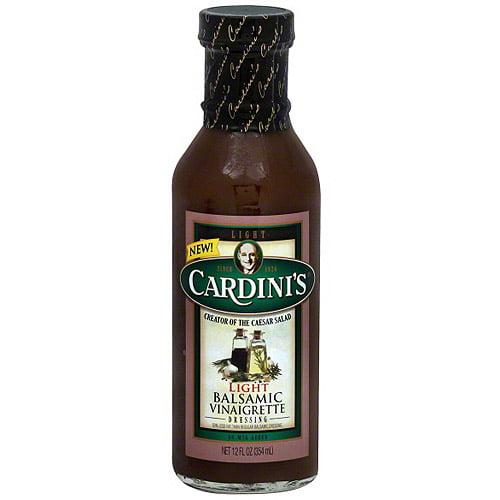 Cardini's Light Balsamic Vinaigrette, 12 fl oz (Pack of 6)