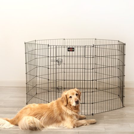 "Pet Sentinel Foldable Dog Playpen, Large, 6.30""L x 192""W x 24""H"