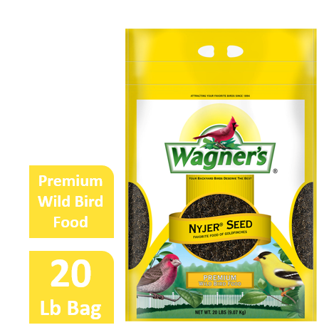 20 LB Wagner's Nyjer Wild Bird Food by Wagner's LLC