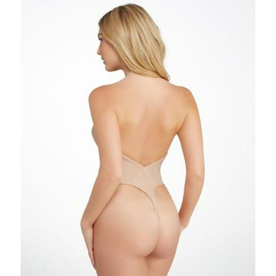 5fdfa51f9f Va Bien - Va Bien Strapless Low Back Slimming Bodysuit - Walmart.com