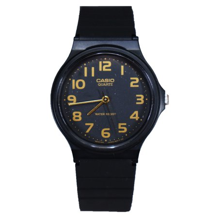 Casio Classic Analog Water Resistant Watch w/ Resin Band - MQ24 - 10 Styles