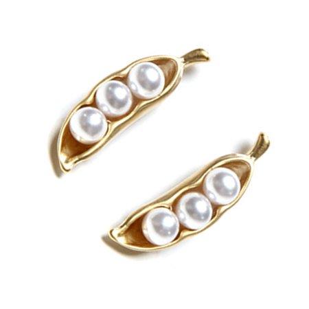 Women Bead Earrings Girl Party Anniversary Gift Ear Studs Female Wedding Jewelry - image 6 of 6