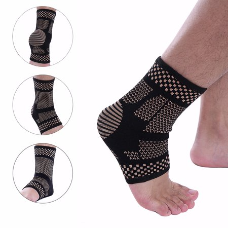 CFR Ankle Brace Compression Support Sleeve for Injury Recovery, Joint Pain and more. Plantar Fasciitis Foot Socks with Arch Support, Eases Swelling, Heel Spurs, Achilles (Best Plantar Fasciiti Sock)