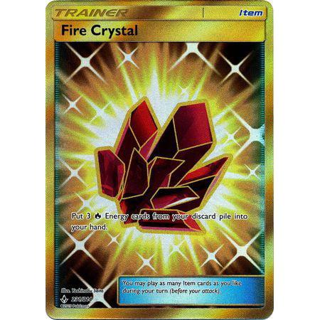 Pokemon Unbroken Bonds Fire Crystal #231
