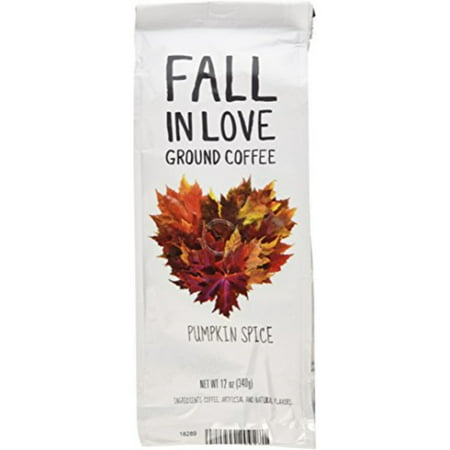 Fall In Love Flavored 12 Oz Ground Coffee (Pumpkin Spice, 12