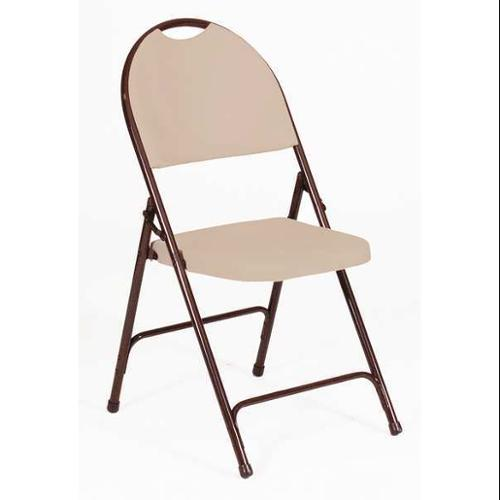 CORRELL RC350-24 Folding Chairs,Brown,Steel,PK4 G1658627