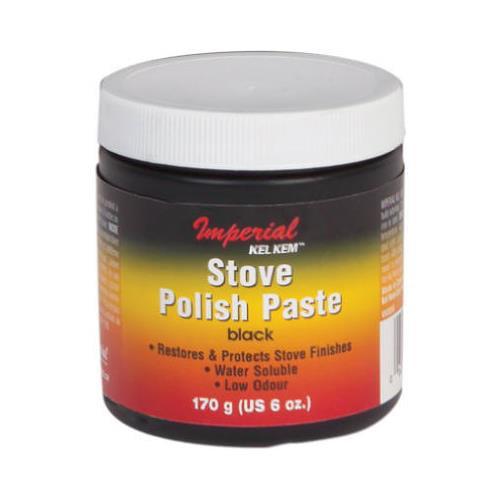 Imperial Mfg Group Usa KK0059 6-oz. Black Stove Polish Paste