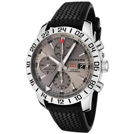 Chopard-Mens-Mille-Miglia-GMT-Auto-Chronograph-Gray-Dial-Black-Rubber