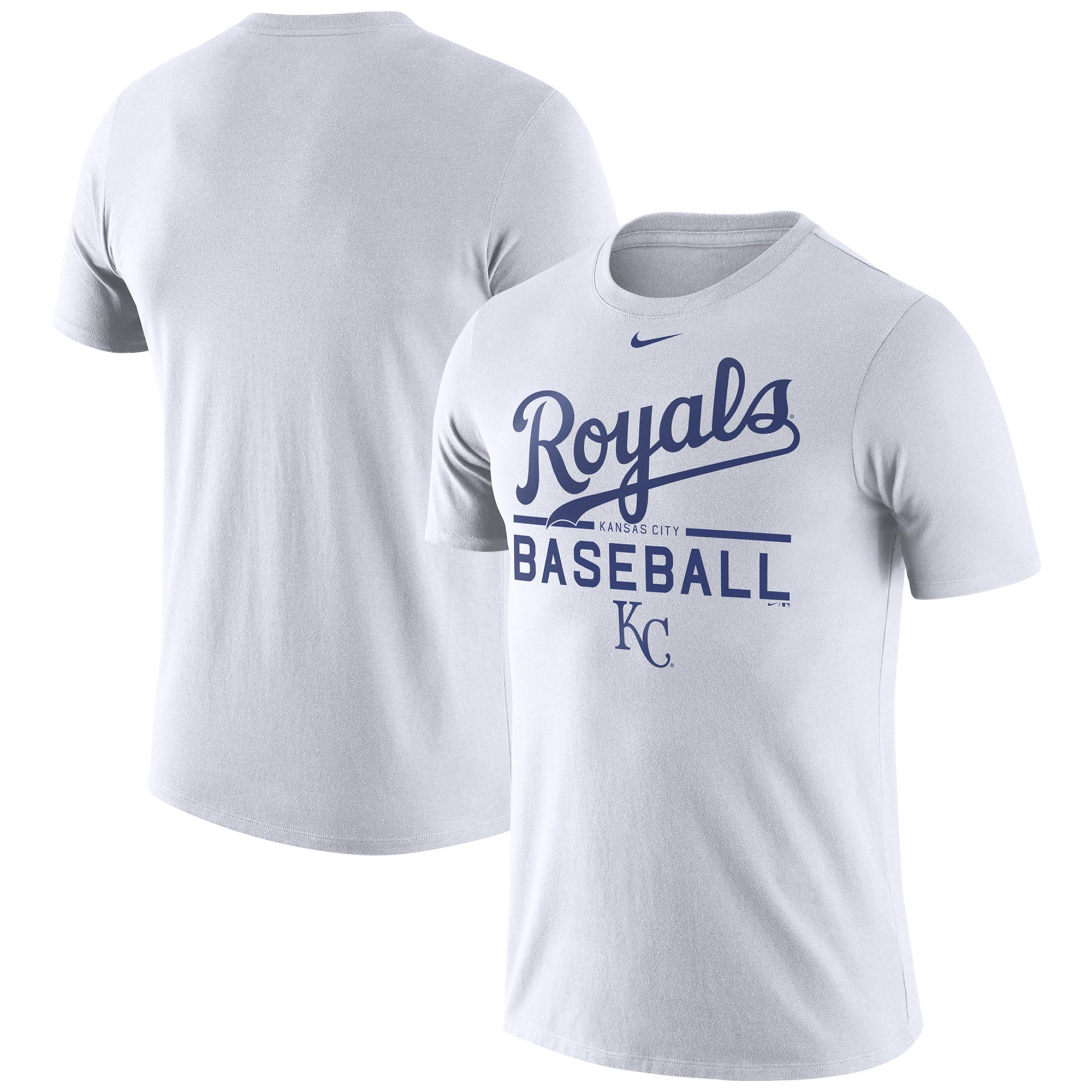 Kansas City Royals Nike Practice T-Shirt - White