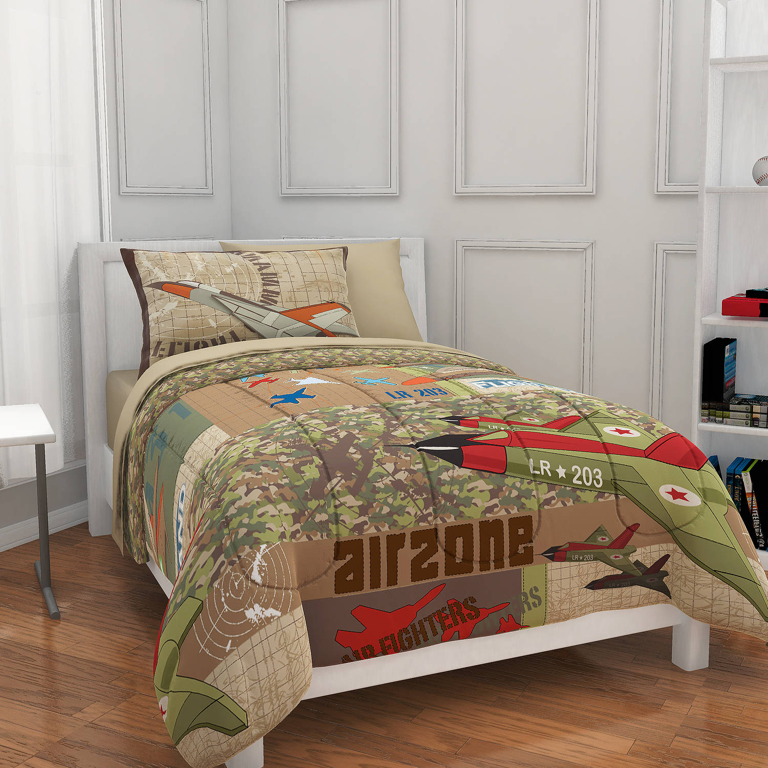 Mainstays Kids Airzone Bed in a Bag Bedding Set by Idea Nuova