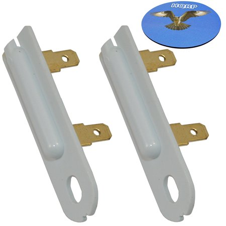 HQRP 2-Pack Thermal Fuse for Maytag 3392519 80005 3388651 ET401 6L4101091C G4AP0500 ER3392519 PS11741460 AP6008325 WE4X857 ET4013388651 MDE17CSAYW0 MDE17CSAYW1 MDE17CSAZW0 SET401 Dryer + HQRP