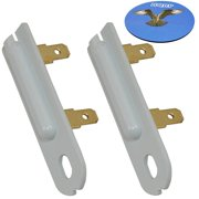 HQRP 2-Pack Thermal Fuse for Maytag 3392519 80005 3388651 ET401 6L4101091C G4AP0500 ER3392519 PS11741460 AP6008325 WE4X857 ET4013388651 MDE17CSAYW0 MDE17CSAYW1 MDE17CSAZW0 SET401 Dryer + HQRP Coaster