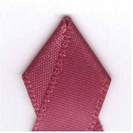 Papilion R074300160169100Y .63 pouces simple face ruban de satin 100 yards - Rosewood - image 1 de 1