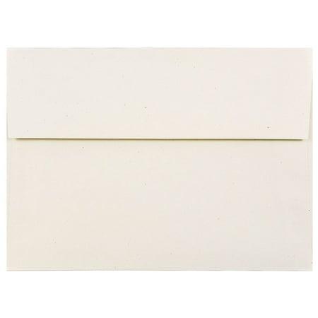 jam paper a7 invitation envelope 5 1 4 x 7 1 4 milkweed genesis