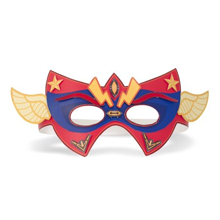 Melissa & Doug Simply Crafty Superhero Masks And Cuffs Kit With Stickers, Shapes, Foam Sticky Tabs - image 3 de 5