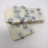 Gourmet Sugar Free Almond Bark White Chocolate Candy 1 pound