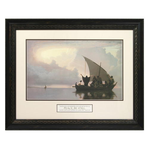 The James Lawrence Company Peace Be Still Framed Print Painting