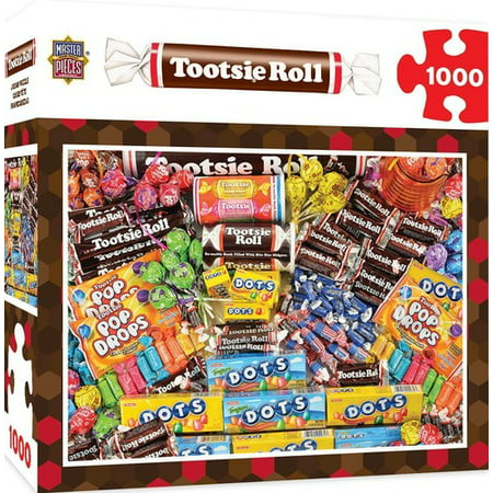 MasterPieces Candy Brands - Tootsie 1000pc Puzzle ()