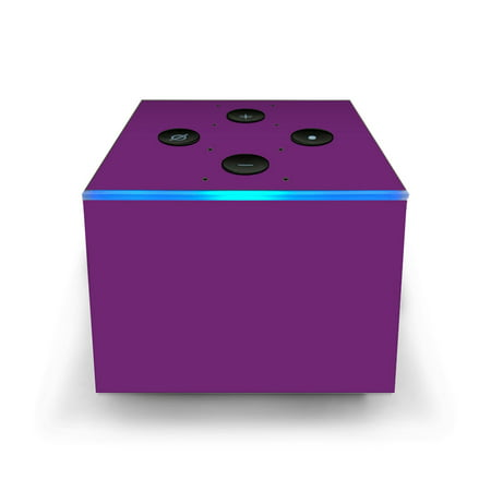 Skins Decals for Amazon Fire TV CUBE + REMOTE / Purple muted ()
