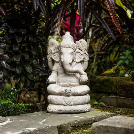 My Spirit Garden Volcanic Ash Powerful Ganesha (Eagle Spirit Statue)