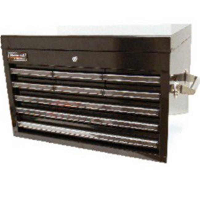 Homak 27 Inch Professional 9 Drawer Extended Top Chest