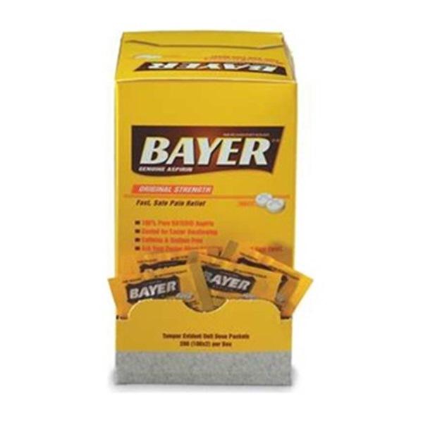 Bayer Aspirin, Tablets, PK 200