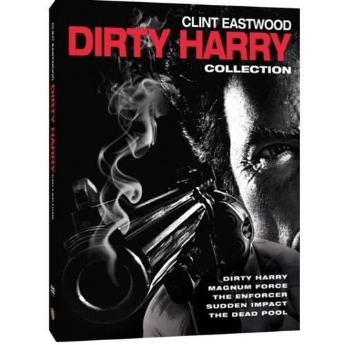 Dirty Harry 5 Film Collection (DVD + Digital Copy With UltraViolet) (With INSTAWATCH) (Walmart Exclusive)
