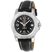 Breitling Colt 36 Black Dial Ladies Watch A7438911-BD82BKLT