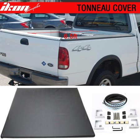 Fits 97-03 Ford F-150 6.5ft 78 in Bed Lock Soft Tri-Fold Tonneau Cover