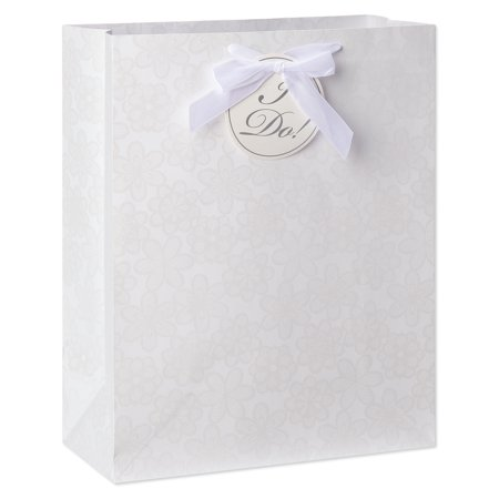 American Greetings Large Wedding Daisy I Do Gift Bag