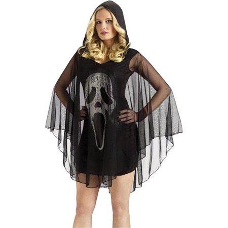 Fun World Sexy Womens Scream Ghost Face Halloween Costume