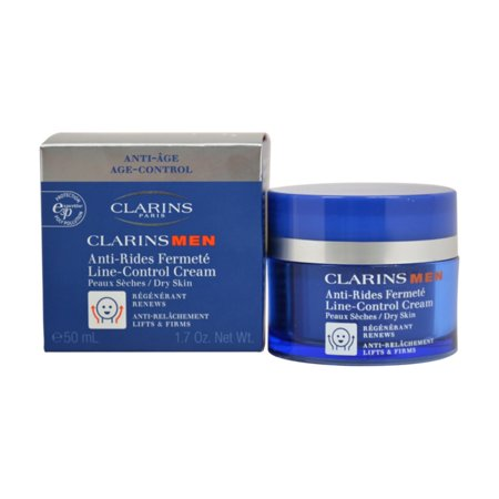 Clarins Men Anti Rides Line-Control Cream, 1.7 Oz