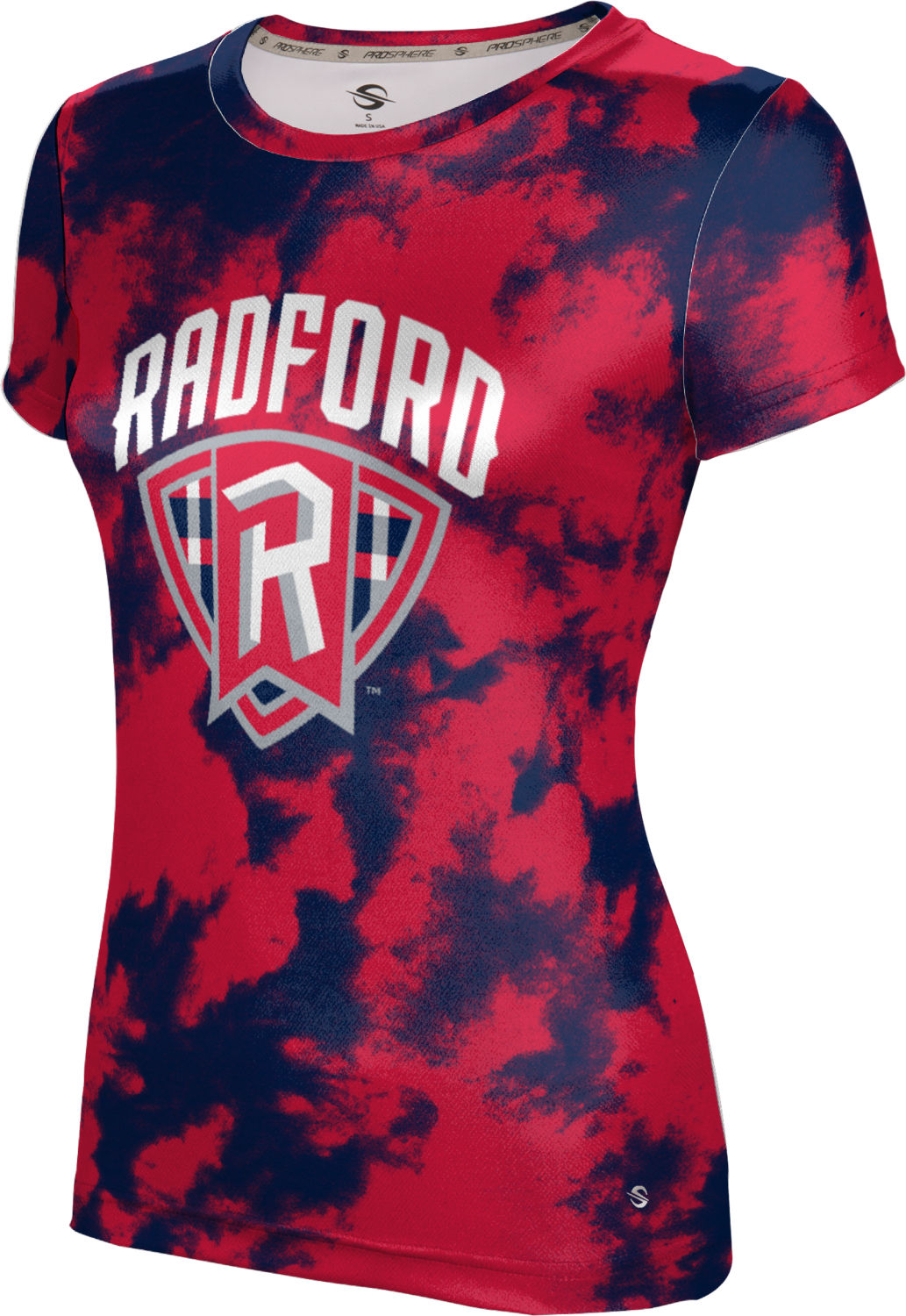 ProSphere Girls' Radford University Grunge Tech Tee