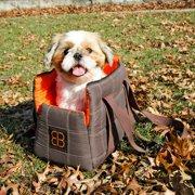 Pet Ego Bitty Bag Pet Bag-Brown/Orange