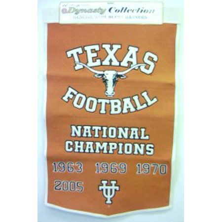 - NCAA Texas Longhorns 2' x 3' Dynasty Banner
